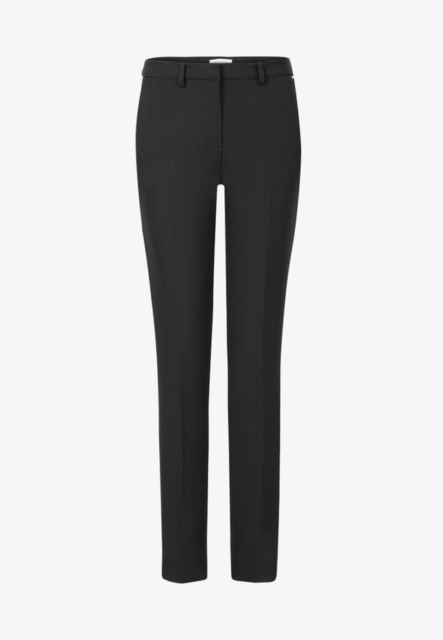 PAT LONG - Trousers - black