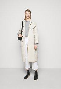 CLOSED - WOMENS - Sweatshirt - grey heather melange - 1