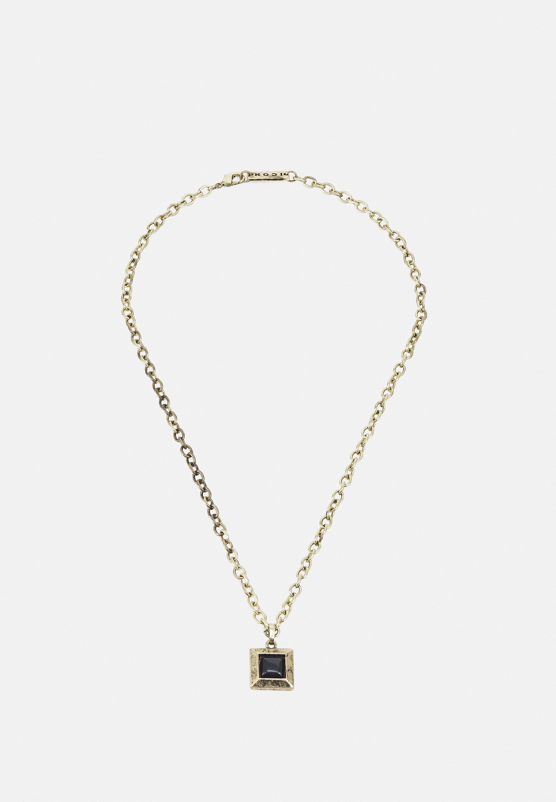 Homme LUXE SQUARE NECKLACE - Collier
