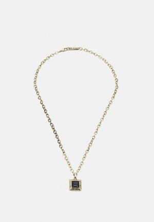 LUXE SQUARE NECKLACE - Halsband - gold-coloured