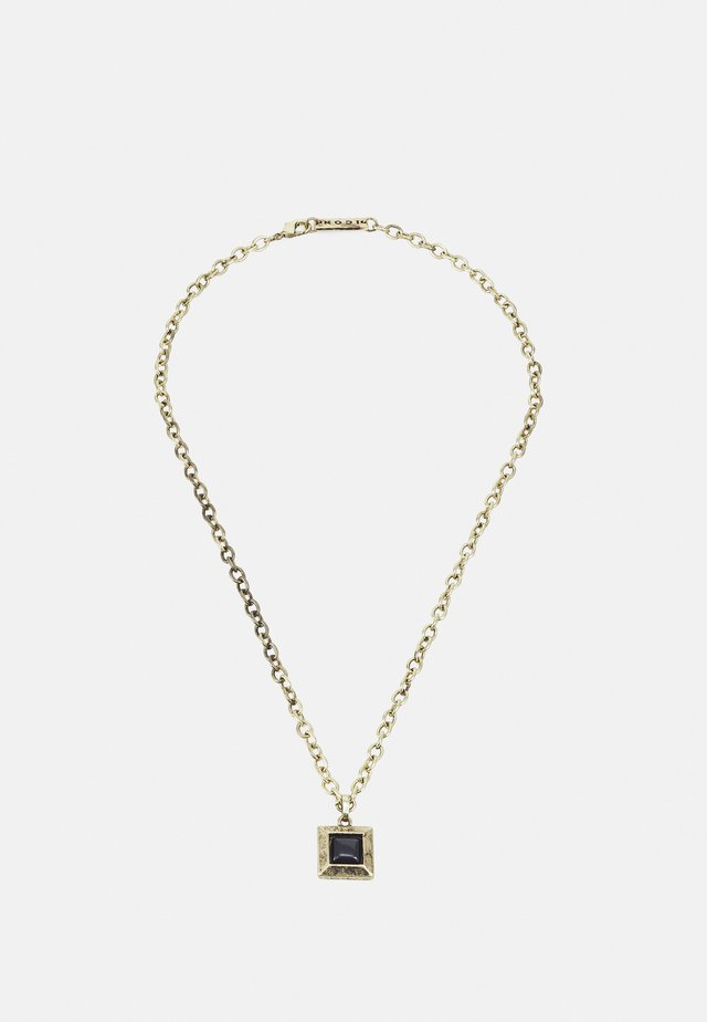 LUXE SQUARE NECKLACE - Necklace - gold-coloured