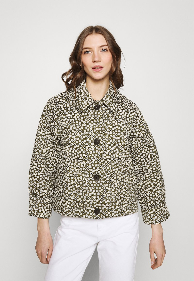 Monki - Light jacket - minibloom dark