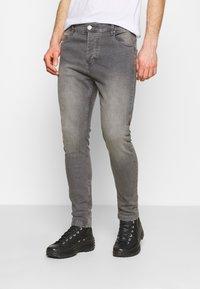 Brave Soul - Slim fit jeans - grey - 0