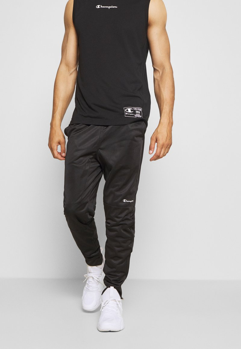 Champion - LEGACY CUFF PANTS - Pantalon de survêtement - black