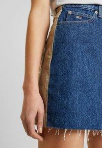 Tommy Jeans - SHORT SKIRT - Miniskjørt - blue denim - 3