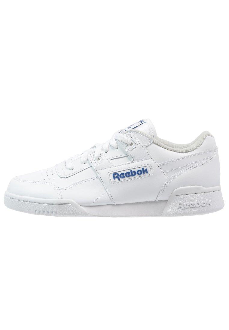Meditativo Publicación bulto  Reebok Classic WORKOUT PLUS - Sneakersy niskie - white/royal/biały - Zalando .pl