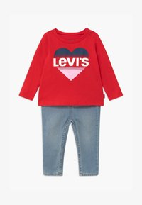 Levi's® - SET - Slim fit jeans - red - 0