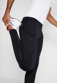 Craft - ESSENCE ZIP TIGHTS - Leggings - black - 3