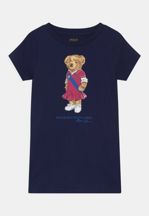 BEAR - Jersey dress - newport navy