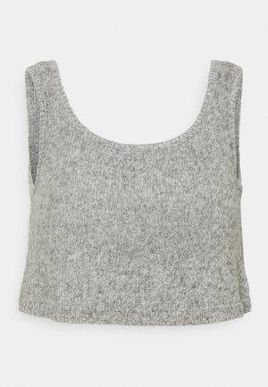 ONLLUNA CROPPED  - Top - light grey melange