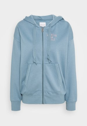BRANDED FULL ZIP - Hettejakke - blue