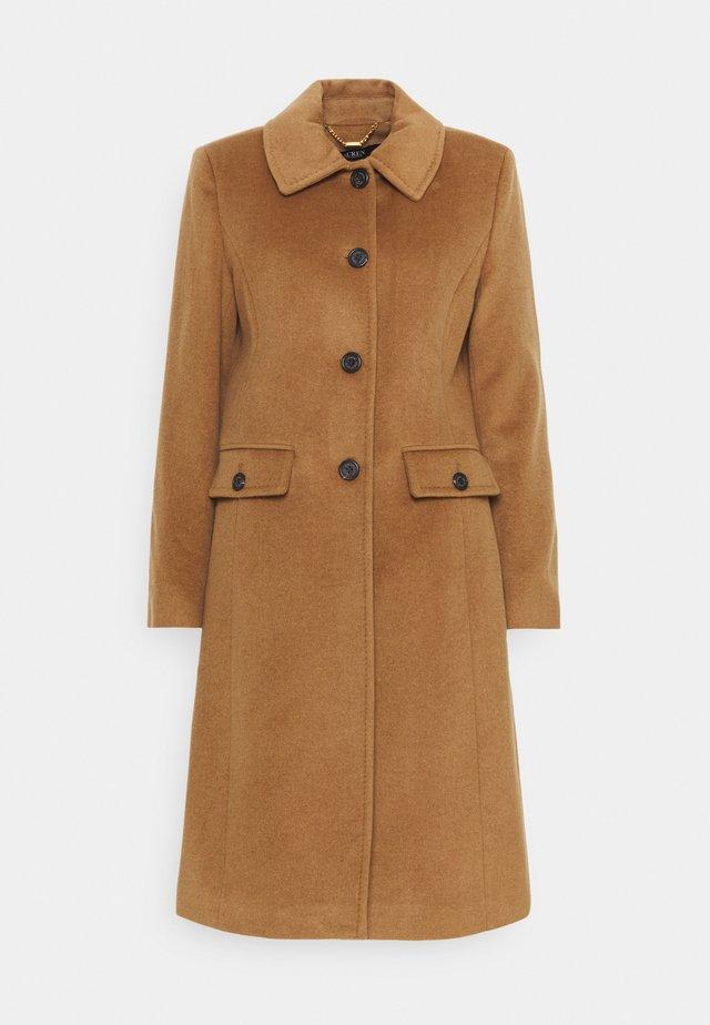 COAT FLAP  - Zimní kabát - new vicuna