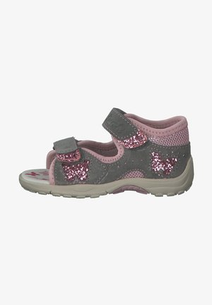Baby shoes - grey rose