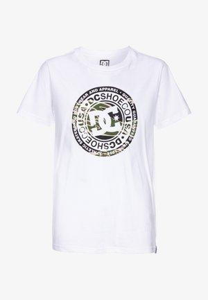 CIRCLE STAR BOY - Print T-shirt - snow white