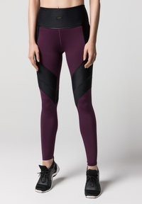 Daquïni - LUX  - Leggings - Trousers - dark red - 0