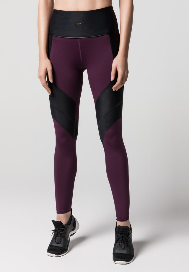 LUX  - Leggings - Trousers - dark red