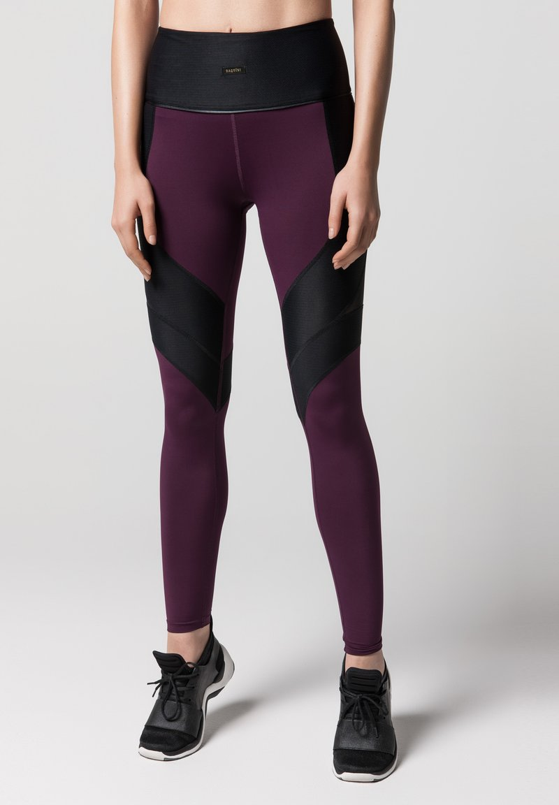 Daquïni - LUX  - Leggings - Trousers - dark red