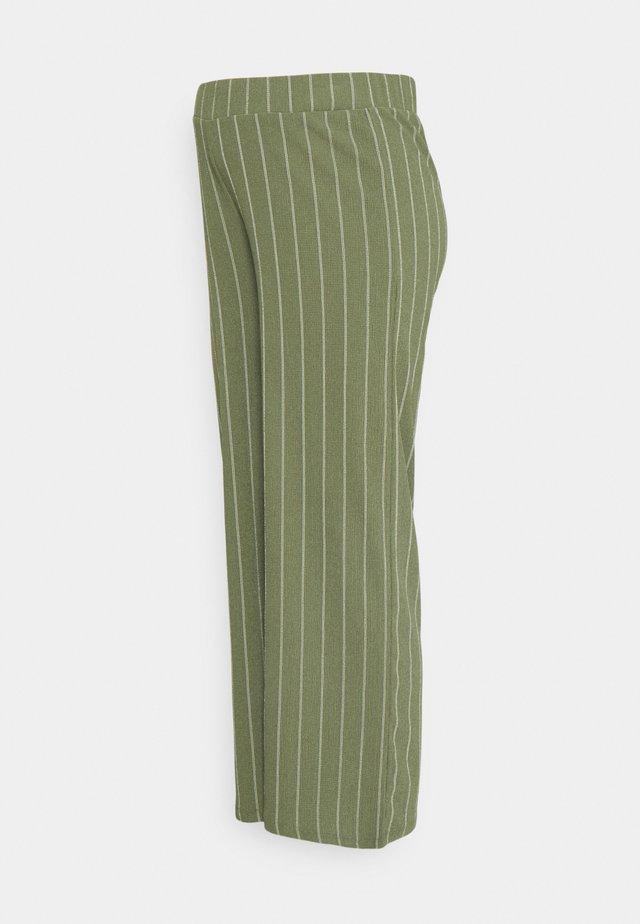 STRIPE - Pantalon classique - dusty olive