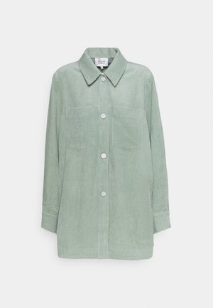 BOYAS - Button-down blouse - green milieu