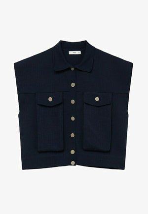 BOTI - Waistcoat - azul marino oscuro