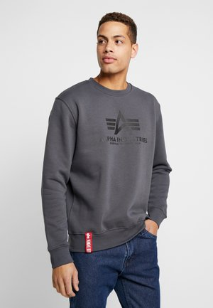 BASIC - Sweatshirt - greyblack/black