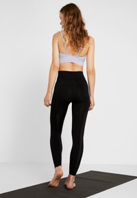 Free People - GOOD KARMA LEGGING - Medias - black - 2