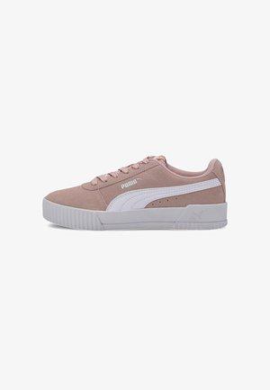 CARINA YOUTH - Sneakers laag - peachskin-puma white