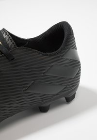 adidas Performance - NEMEZIZ 19.4 FXG - Moulded stud football boots - core black/utility black - 5
