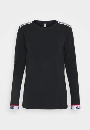 LONG SLEEVE  - Pyjama top - black