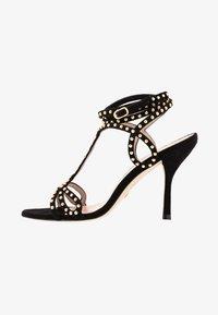 Stuart Weitzman - LEYA BEAD - High heeled sandals - black/gold - 1