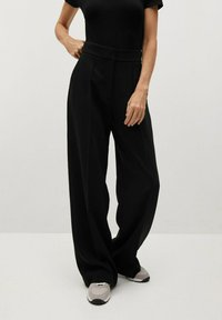 Mango - BERNAT - Trousers - zwart - 0