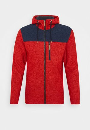 ATHOL - Fleecejacke - coral red