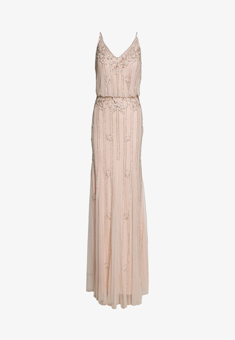 Lace & Beads Tall - KEEVA MAXI TALL - Occasion wear - nude