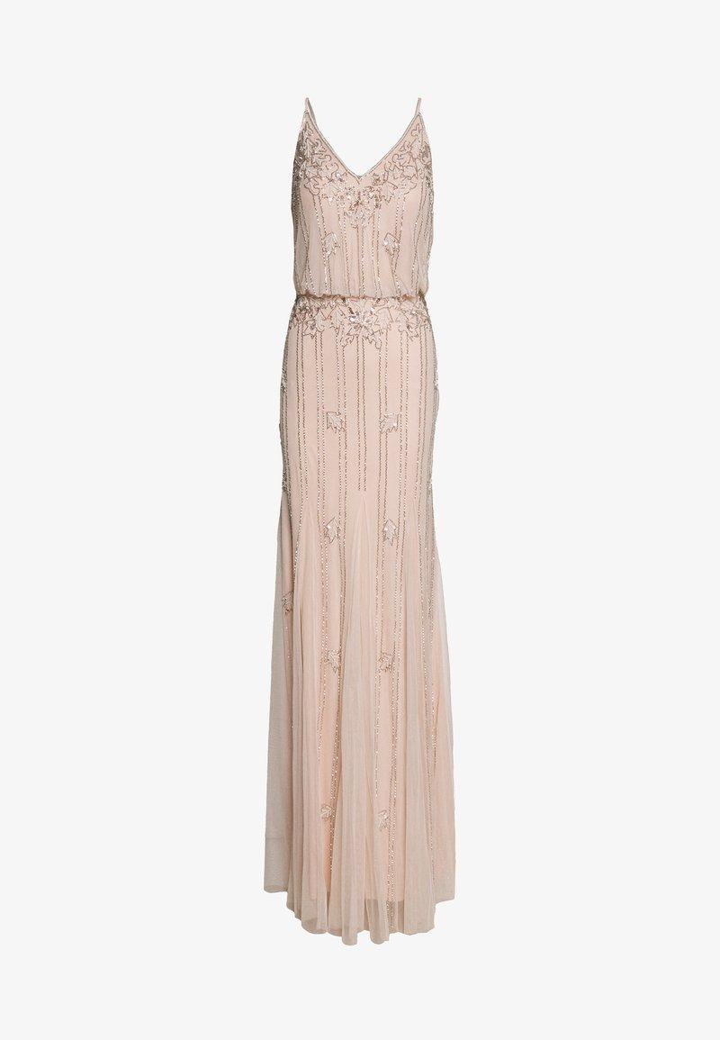 Lace & Beads Tall - KEEVA MAXI TALL - Společenské šaty - nude