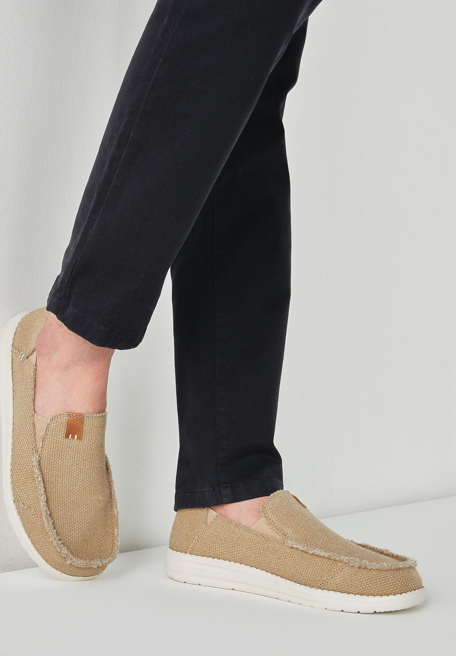 Homme RELAXED FRAY  - Mocassins