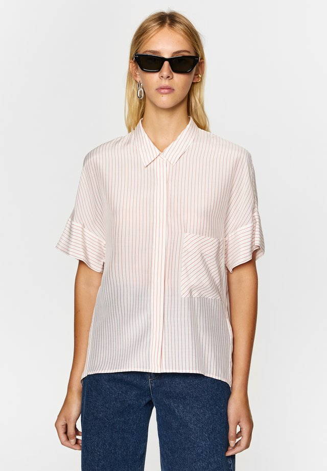 RED STRIPED - Overhemdblouse - red