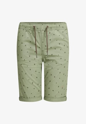 MET PRINT - Shorts - army green