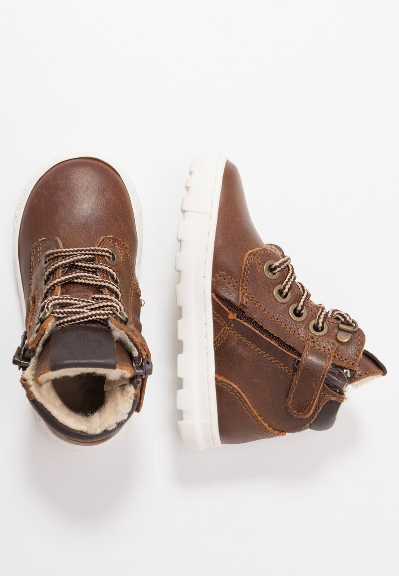 Pinocchio - Lace-up ankle boots - chestnut