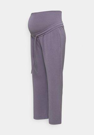 MLZEDA LOUNGE WIDE PANTS - Träningsbyxor - minimal gray