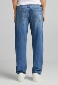 Bershka - Straight leg jeans - dark blue - 2