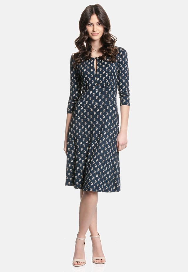 A-LINIEN-KLEID LUCY SWING DRESS - Day dress - blau allover