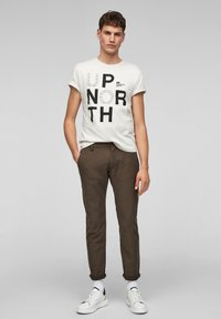 s.Oliver - Chinos - olive - 1