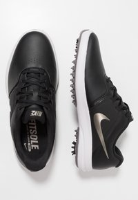 Nike Golf - AIR ZOOM VICTORY - Golfové boty - black/metallic pewter/gunsmoke/vast grey/platinum tint - 1
