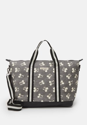 SHOPPING BAG MICKEY MOUSE SHOP TILL YOU DROP - Tote bag - grey