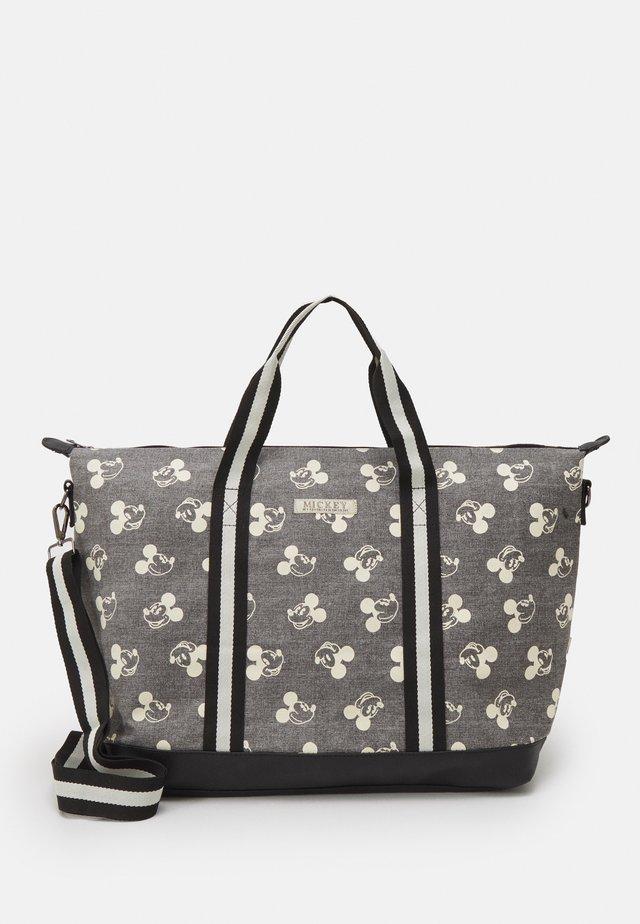 SHOPPING BAG MICKEY MOUSE SHOP TILL YOU DROP - Bolso shopping - grey