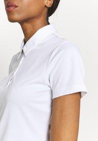 adidas Golf - TOURNAMENT - Polo shirt - white - 5