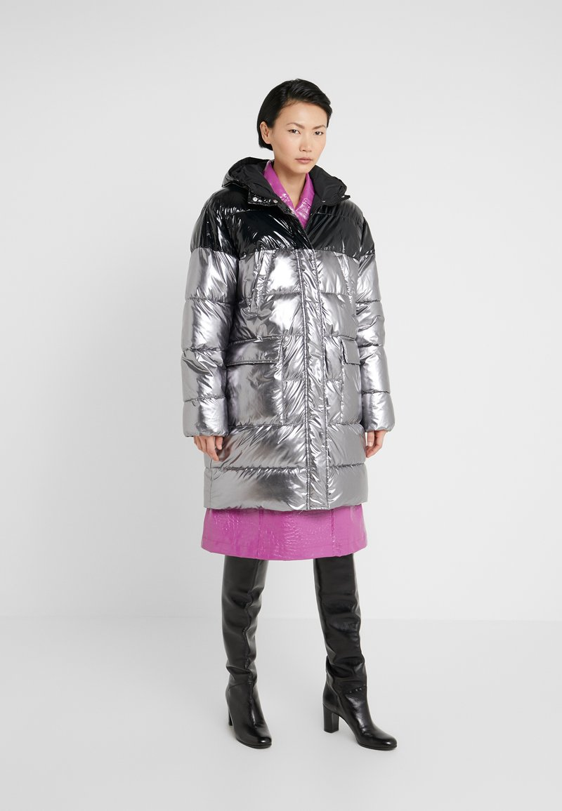 Pinko - PAMPERO PIUMINO  - Vinterkåpe / -frakk - silver