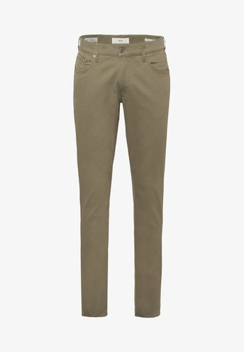 STYLE CHUCK - Straight leg jeans - khaki