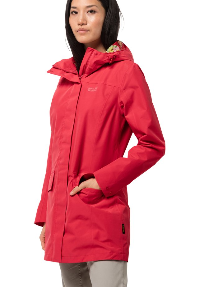 CAPE YORK PARADISE - Waterproof jacket - tulip red