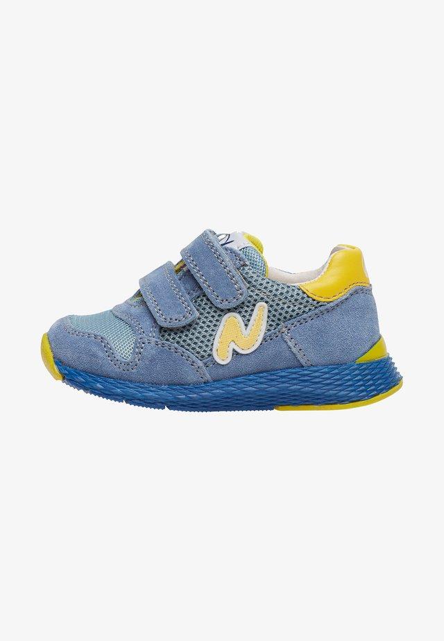 SAMMY - Baby shoes - light blue